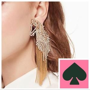 🆕Kate Spade ♠️ Wild Ones Statement Earrings 🐴